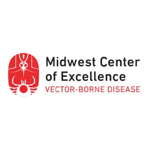 Midwest Center of Excellence Vector-Borne Disease logo